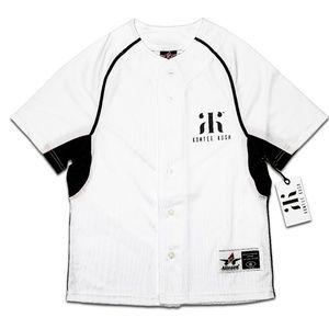 Kumfee Kush (TM) Youth Baseball Jerseys White (L)